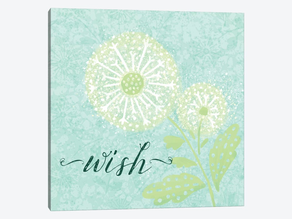 Dandelion Wishes III by Noonday Design 1-piece Canvas Artwork