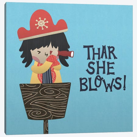 Ahoy Matey II 3-Piece Canvas #NDD2} by Noonday Design Canvas Wall Art