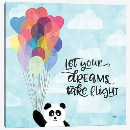 Dreams & Soar I Canvas Print #NDD31} by Noonday Design Canvas Wall Art