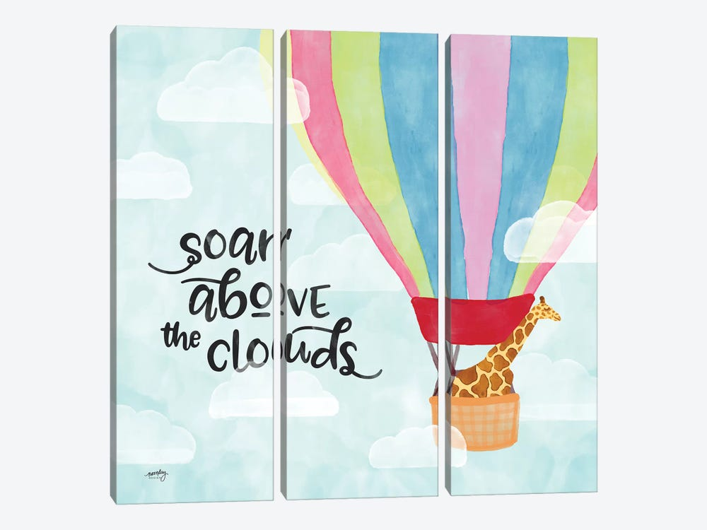 Dreams & Soar II by Noonday Design 3-piece Canvas Art Print