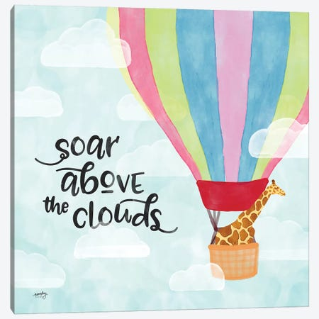 Dreams & Soar II 3-Piece Canvas #NDD32} by Noonday Design Canvas Artwork