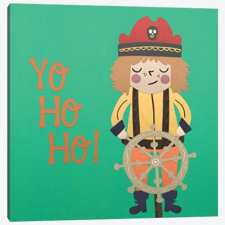 Ahoy Matey III Canvas Print #NDD3} by Noonday Design Canvas Artwork