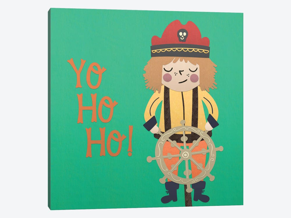 Ahoy Matey III by Noonday Design 1-piece Canvas Wall Art