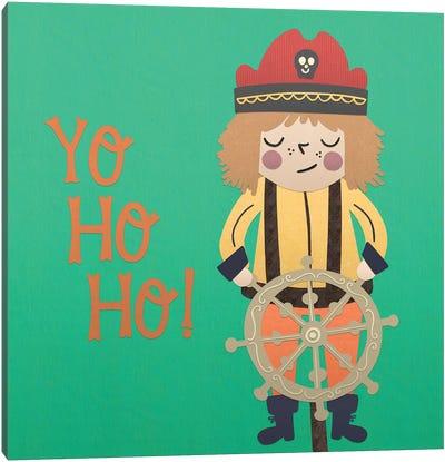 Ahoy Matey III Canvas Art Print