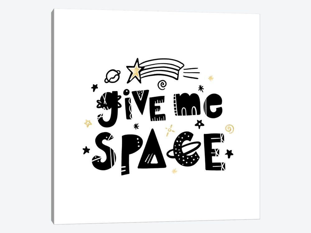 Give Me Space I by Noonday Design 1-piece Canvas Wall Art