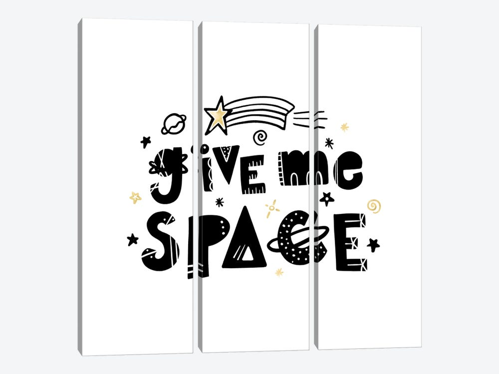 Give Me Space I by Noonday Design 3-piece Canvas Wall Art