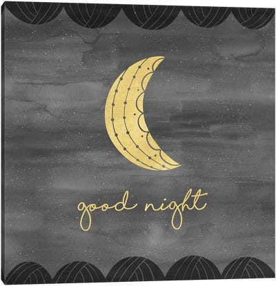 Good Night Sleep Tight I Canvas Art Print