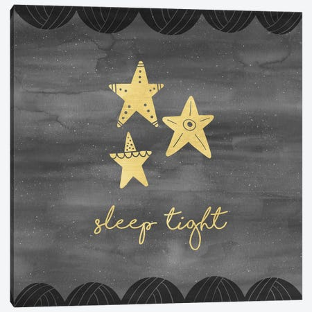 Good Night Sleep Tight II Canvas Print #NDD47} by Noonday Design Canvas Art
