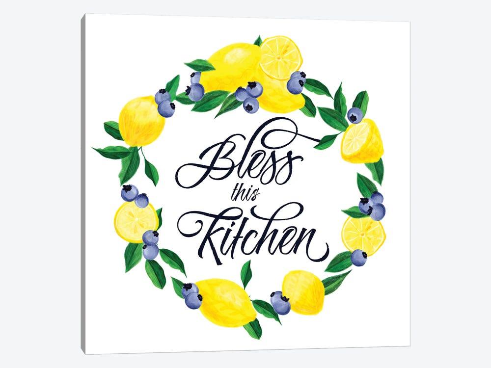 Lemon Blueberry Kitchen Sign I by Noonday Design 1-piece Canvas Artwork