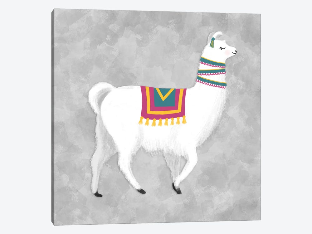 Lovely Llama I by Noonday Design 1-piece Canvas Artwork