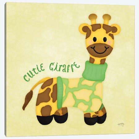 Baby Safari I Canvas Print #NDD6} by Noonday Design Art Print
