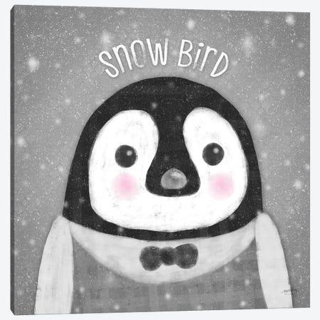 Snow Buddies II Canvas Print #NDD79} by Noonday Design Canvas Art
