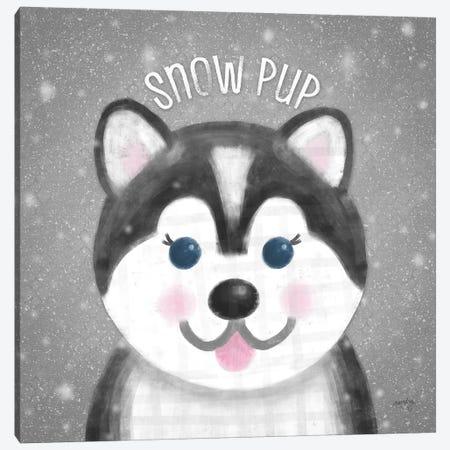 Snow Buddies III Canvas Print #NDD80} by Noonday Design Canvas Art Print