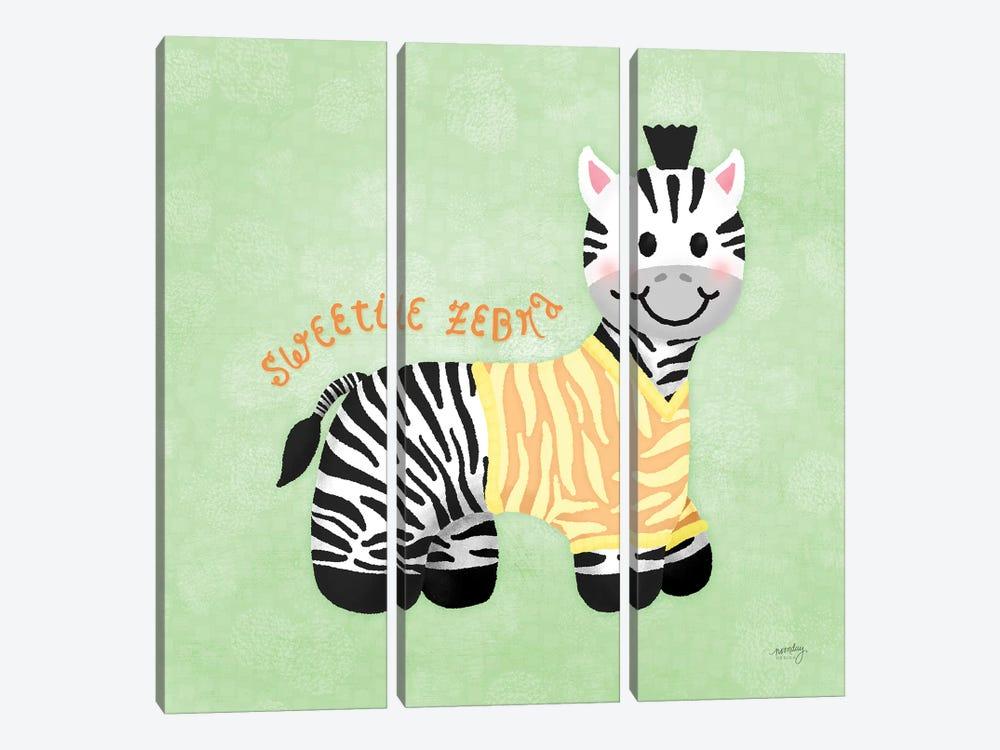 Baby Safari III by Noonday Design 3-piece Canvas Art Print
