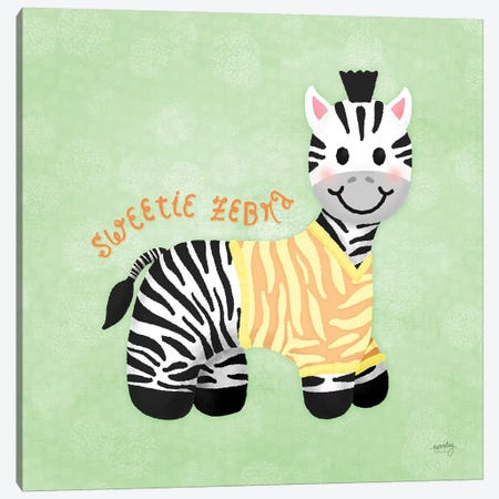 Baby Safari III Canvas Print #NDD8} by Noonday Design Canvas Artwork