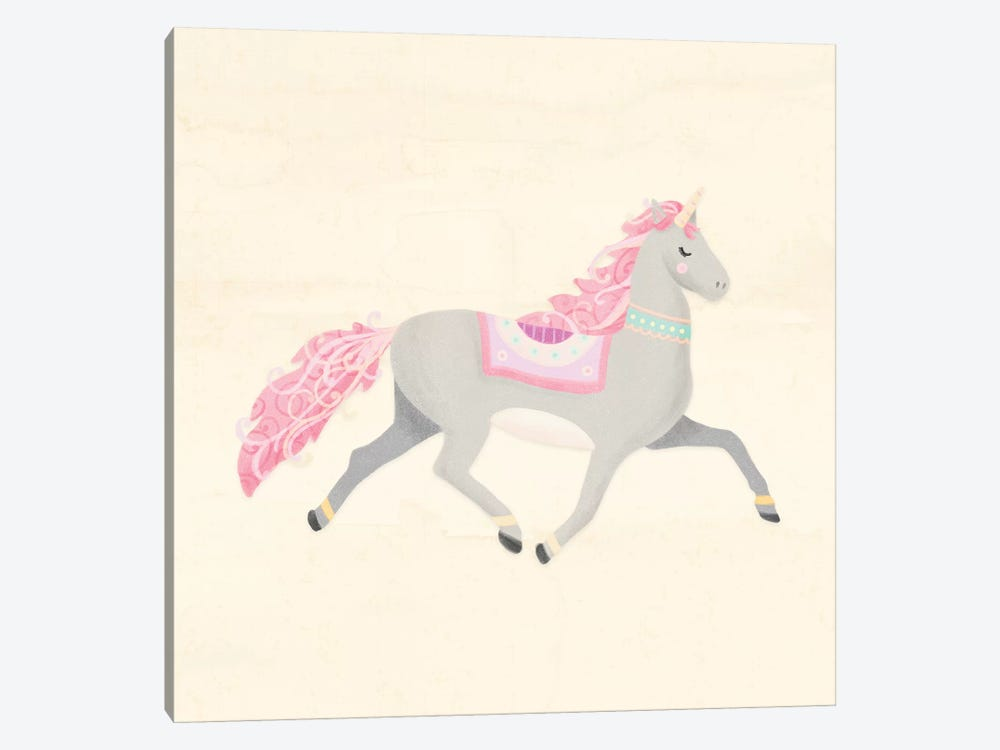 Unicorn Pastel I by Noonday Design 1-piece Canvas Print