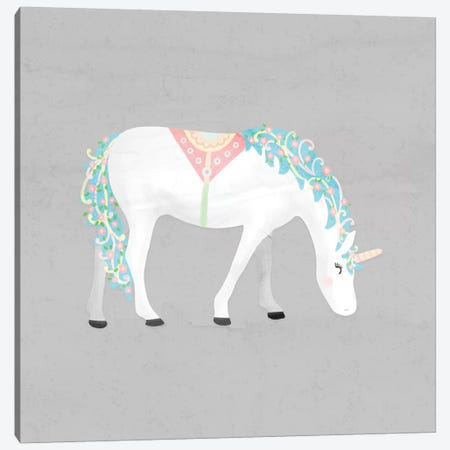 Unicorn Pastel III Canvas Print #NDD94} by Noonday Design Art Print