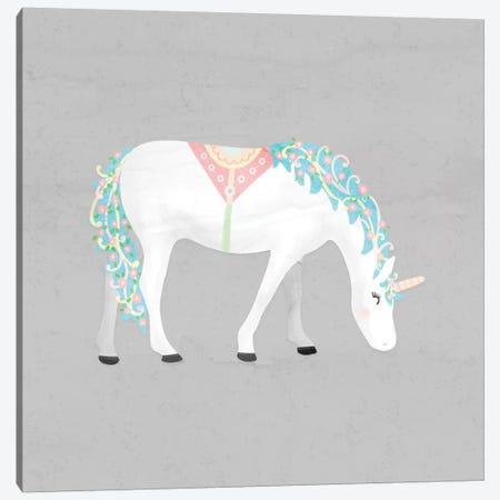 Unicorn Pastel III Canvas Print #NDD94} by Noonday Design Art Print
