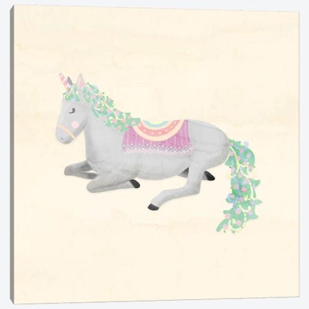 Unicorn Pastel IV Canvas Print #NDD95} by Noonday Design Canvas Art Print