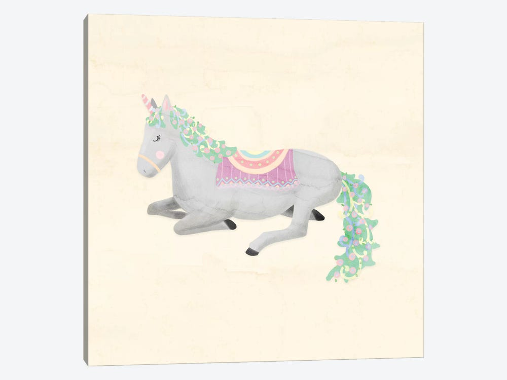 Unicorn Pastel IV by Noonday Design 1-piece Canvas Artwork