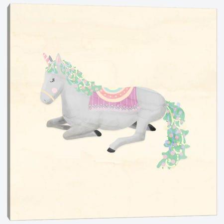 Unicorn Pastel IV 3-Piece Canvas #NDD95} by Noonday Design Canvas Art Print