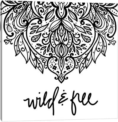 Wild & Free Daydreamer I Canvas Art Print