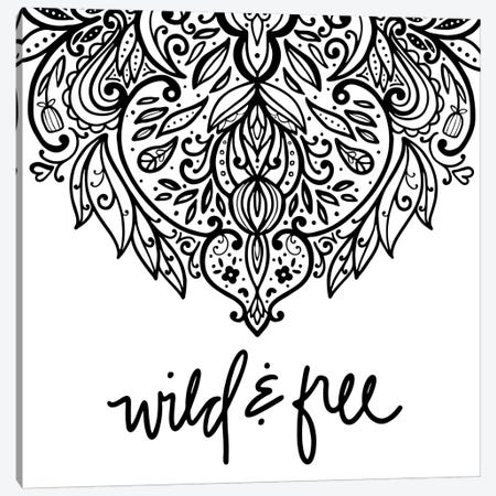 Wild & Free Daydreamer I Canvas Print #NDD98} by Noonday Design Canvas Art