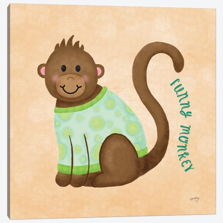 Baby Safari IV Canvas Print #NDD9} by Noonday Design Canvas Art