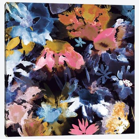 Big Blooms Painting Canvas Print #NDE14} by Ninola Design Canvas Artwork