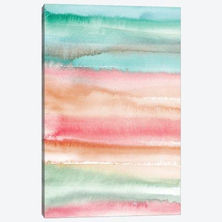 Gradient Watercolor Summer Canvas Print #NDE166} by Ninola Design Canvas Print