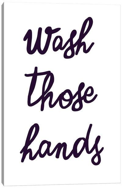 Wash Hands Canvas Art Print