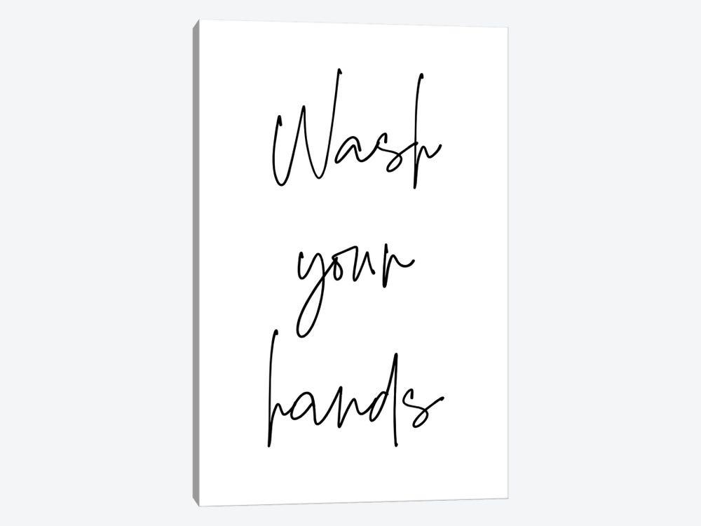 Wash Your Hands by Ninola Design 1-piece Art Print