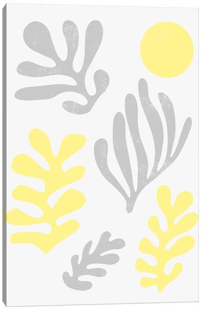Matisse Leaves Illuminating Yellow Ultimate Canvas Art Print