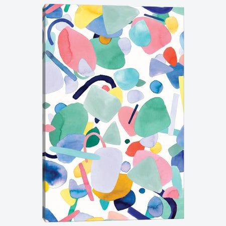 Abstract Geometry Organic Shapes Canvas Print #NDE207} by Ninola Design Canvas Artwork
