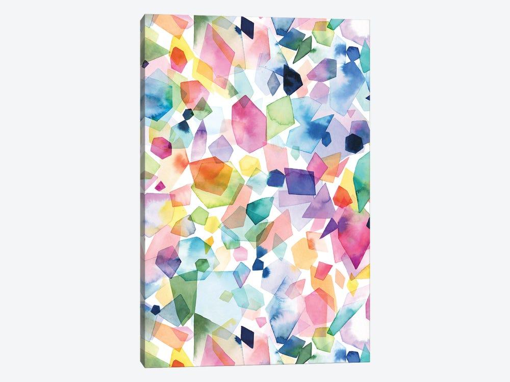 Watercolor Crystals Agates And Gems by Ninola Design 1-piece Canvas Art