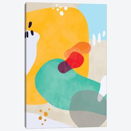 Organic Modern Bold Shapes Canvas Print #NDE238} by Ninola Design Canvas Art