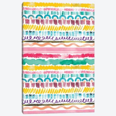Garlands Tribal Canvas Print #NDE34} by Ninola Design Canvas Art