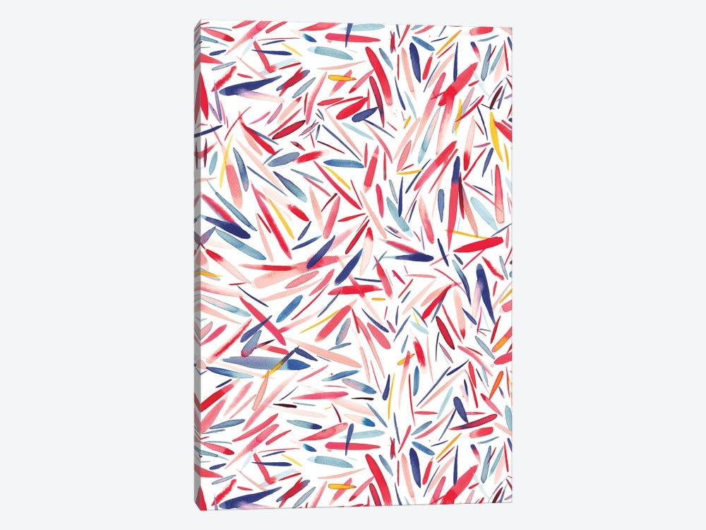 Holiday Rain by Ninola Design 1-piece Canvas Artwork