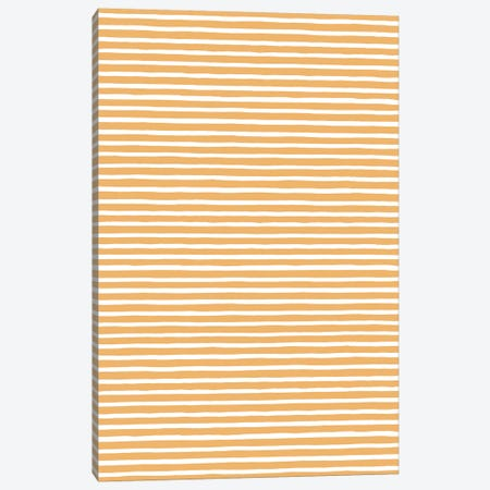 Marker Gold Stripes Canvas Print #NDE66} by Ninola Design Canvas Print