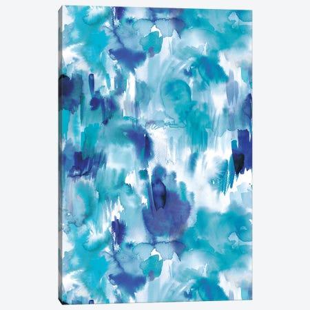 Painterly Texture Blue Canvas Print #NDE78} by Ninola Design Art Print