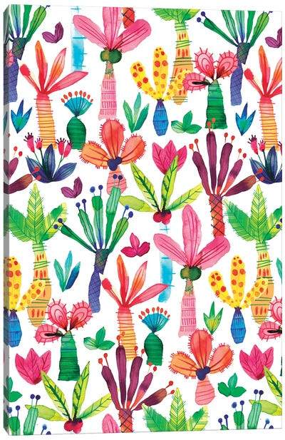 Palms Kids Garden Canvas Art Print