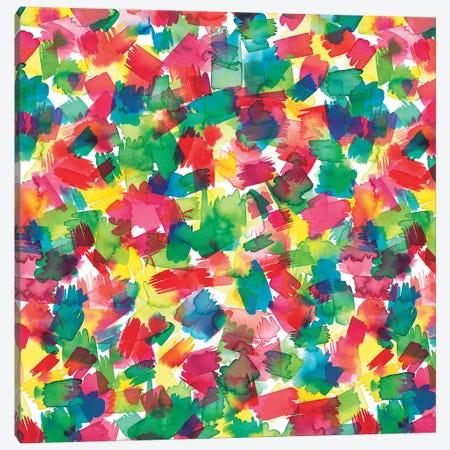 Spring Colors Multicolored Canvas Print #NDE86} by Ninola Design Canvas Print