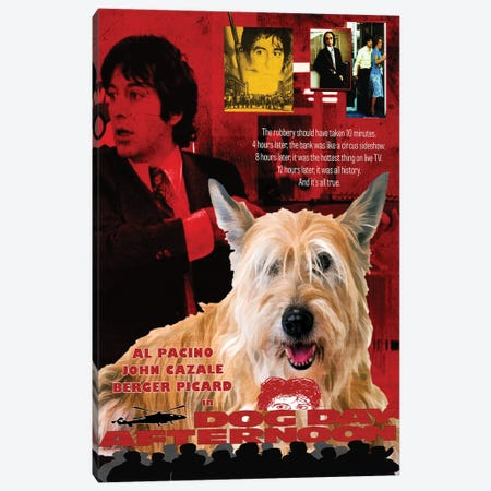 Berger Picard Dog Day Afternoon Canvas Print #NDG1036} by Nobility Dogs Canvas Art Print