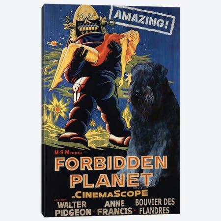 Bouvier Des Flandres Forbidden Planet Canvas Print #NDG1047} by Nobility Dogs Canvas Art