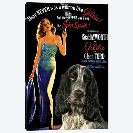 English Cocker Spaniel Gilda Canvas Print #NDG1054} by Nobility Dogs Canvas Print