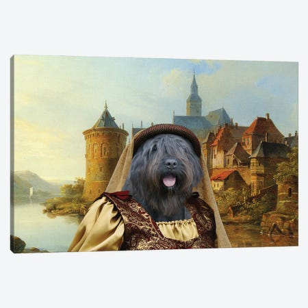 Bouvier Des Flandres A Crusader Bride Canvas Print #NDG1326} by Nobility Dogs Canvas Print