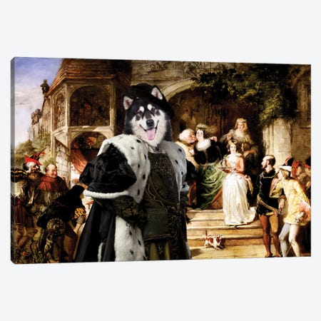 Alaskan Malamute Many Wives Of Windsor Canvas Print #NDG1436} by Nobility Dogs Canvas Print