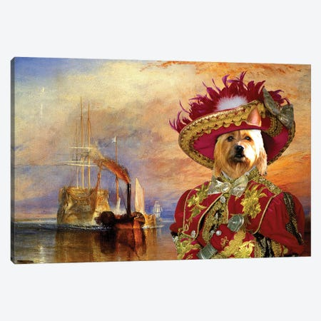 Australian Terrier The Fighting Temeraire Canvas Print #NDG1464} by Nobility Dogs Canvas Art