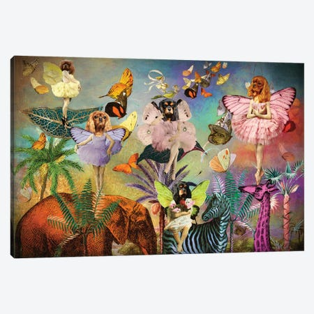 Cavalier King Charles Spaniel Fairy Queen Canvas Print #NDG1513} by Nobility Dogs Art Print