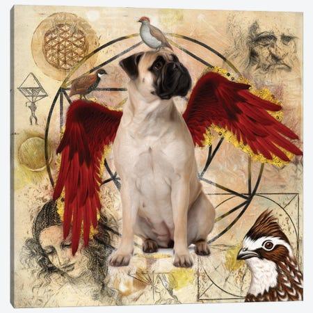 Bullmastiff Angel Da Vinci Canvas Print #NDG152} by Nobility Dogs Canvas Art